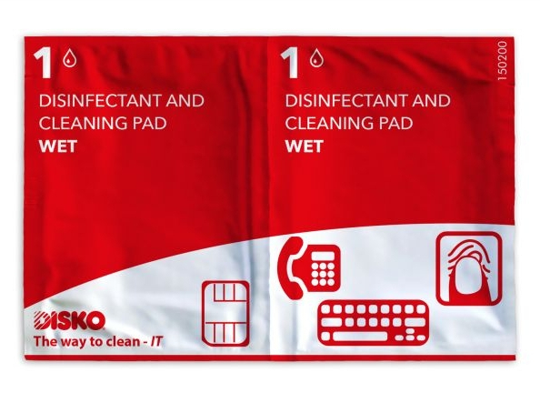 DISKO cleaning and disinfection cloths
