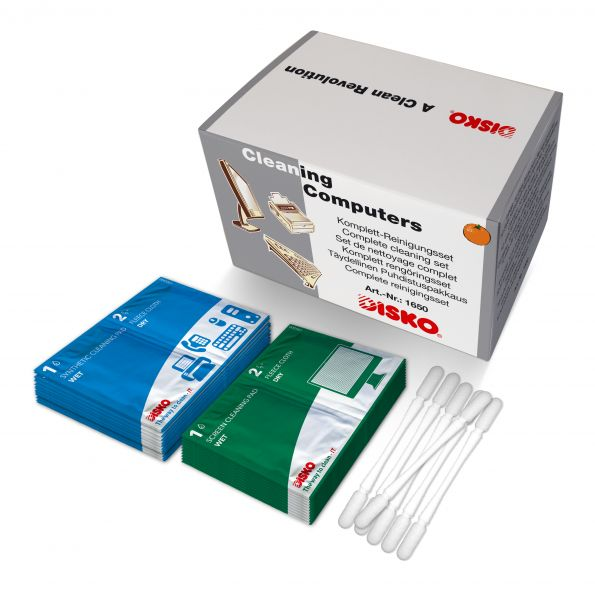 Complete cleaning kits for PCs, terminals, telephones, printer, etc. - nederland