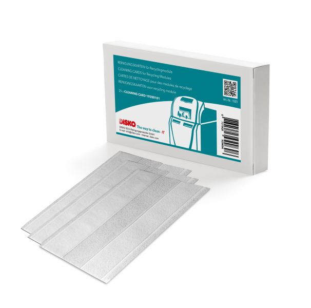 DISKO cleaning kit for recycling modules (banknotes fed from the long side)